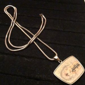 Other - Sterling Silver Native American Painted Necklace
